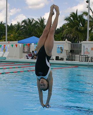 brian alden swimming